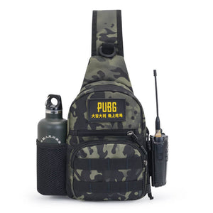 Camo leisure business men sling bag mens travel custom cross body shoulder bag