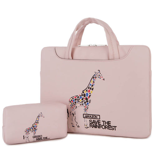 Cartoon painted laptop bag cartoon cute computer bag for men and women