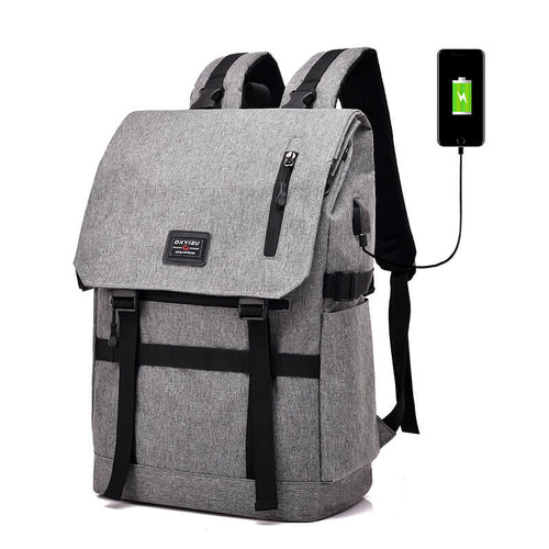 Classic College School Laptop Backpack