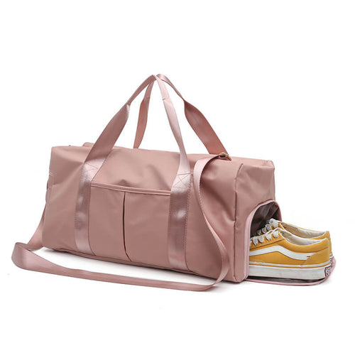 Fashion Outdoor Sports Gym Bag Travel Duffel Bag For Women