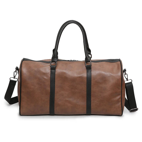 Fashion Pu Business Outdoor Travel Luggage Tote Duffel Bag