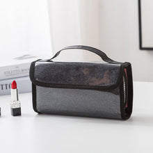 Load image into Gallery viewer, Fashion waterproof women makeup PVC mirror cosmetic bag