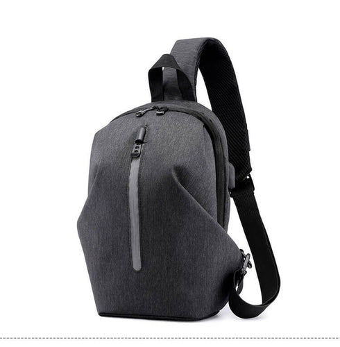 Fashionable Business Waterproof travel men chest sport sling bag