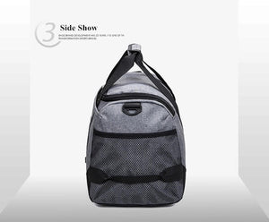 Large Capacity Durable Nylon Travel Tote Sports Gym Bag