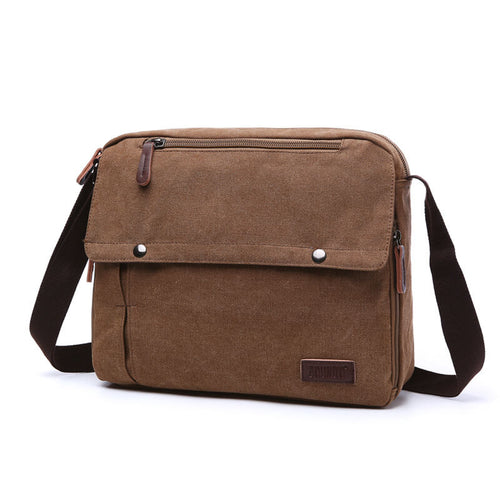 Light weight men business shoulder messenger bag