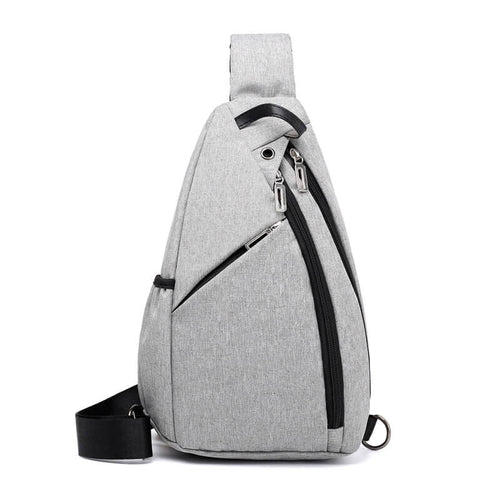 Men Chest Shoulder Bag Cell Phone Sling Crossbody Bags
