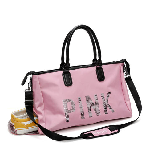 New Design Portable Rolling Travel Sports Gym Duffel Bag With Shoulder Strap