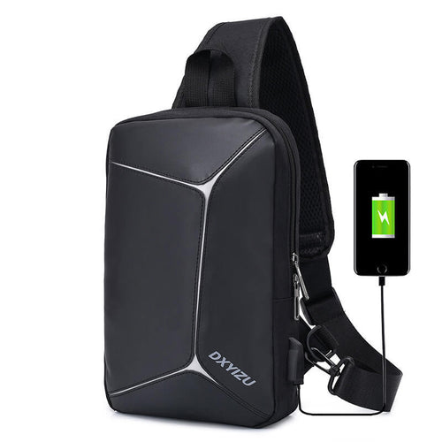New Male waterproof leisure sling Bag Shoulder Backpacks for Men