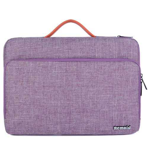 Polyester notebook sleeve briefcase laptop bag for student women men