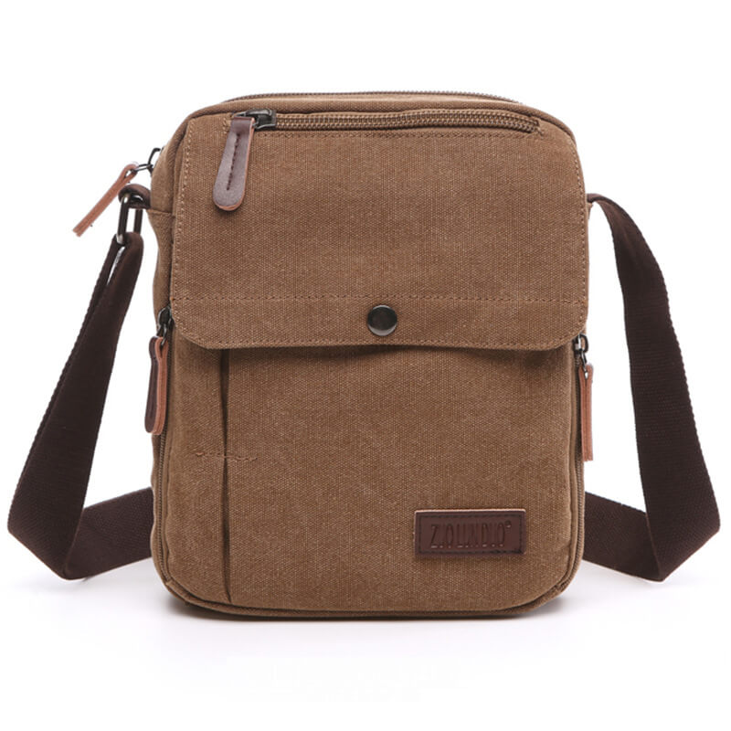 Simple and high-quality nylon mini sling bag men messenger bag