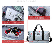 Load image into Gallery viewer, Travel Duffel Bag Sports Hand Bag With Shoe Compartment