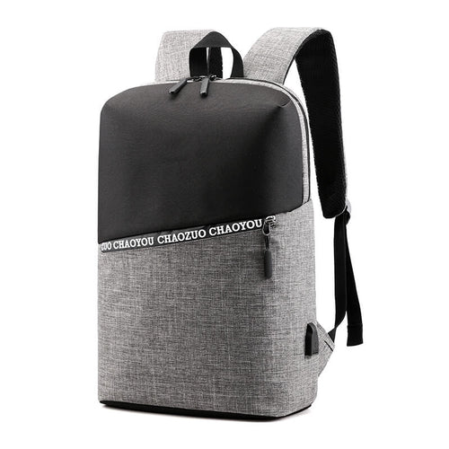 Oxford USB Charging Business laptop Backpack