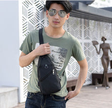 Load image into Gallery viewer, Vintage travel small cross body bags sling mini shoulder bag for men