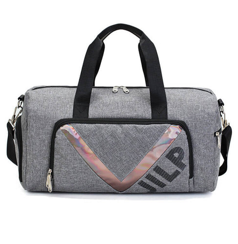 Waterproof Gym Luggage Bag with Shoe Compartment