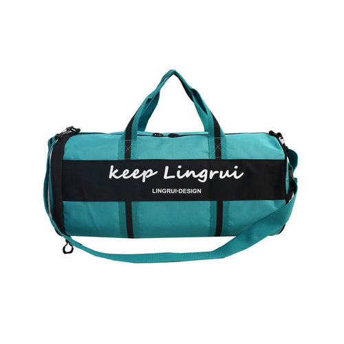 Waterproof customer travel bag with shoe compartment Multi-function Duffel Bag