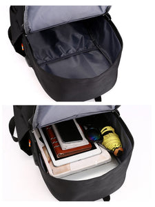 USB travelling school backpack