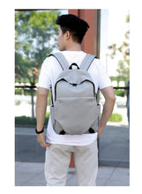 Load image into Gallery viewer, USB travelling school backpack