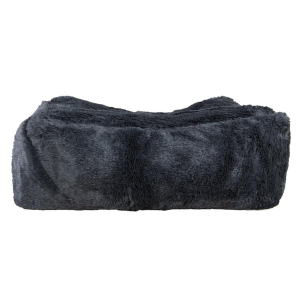 Large-Footstool-Fluffy-Faux-Fur-Badger-Black_1