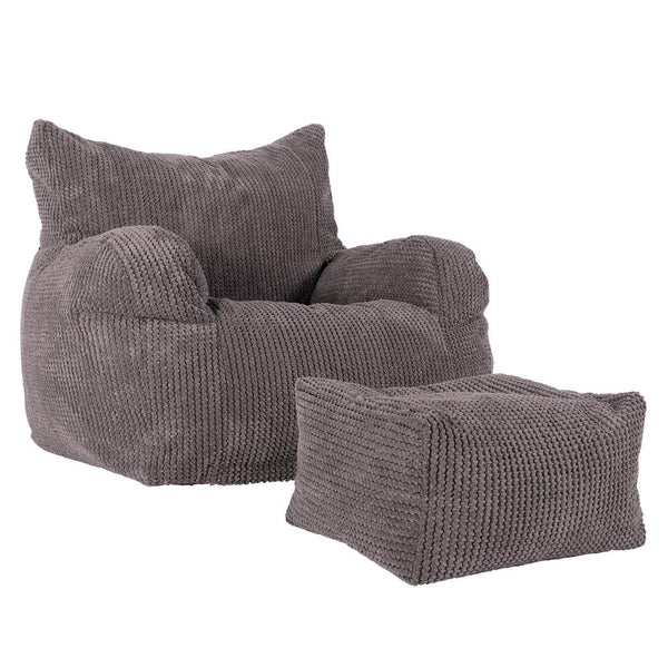 Bean-Bag-Armchair-Pom-Pom-Charcoal-Gray_1