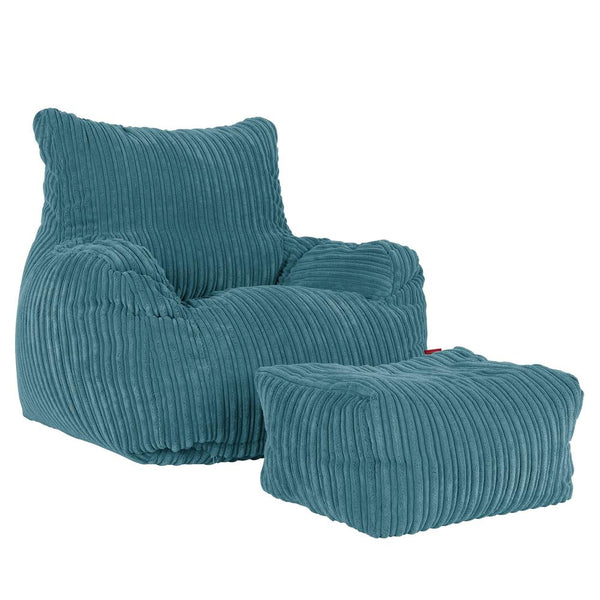 Bean-Bag-Armchair-Cord-Aegean-Blue_1