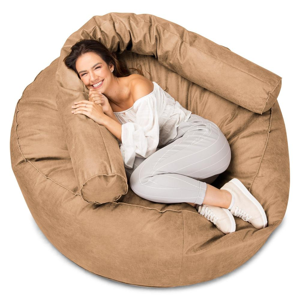 xxl-cuddle-cushion-distressed-leather-honey-brown_3