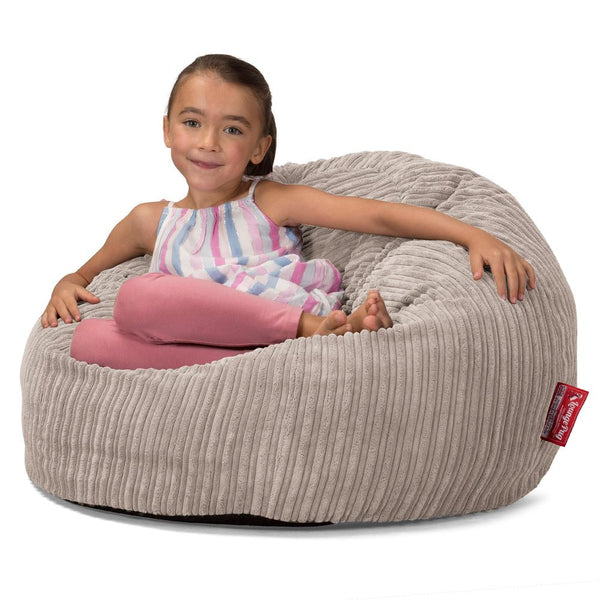 lounge-sack-kids-memory-foam-giant-childrens-bean-bag-cord-mink_2