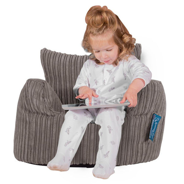 Toddlers-Armchair-1-3-yr-Bean-Bag-Cord-Graphite-Gray_1