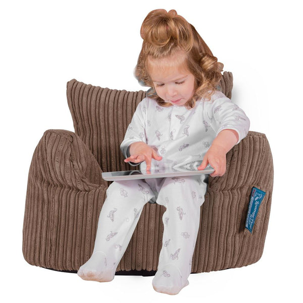 Toddlers-Armchair-1-3-yr-Bean-Bag-Cord-Mocha-Brown_1