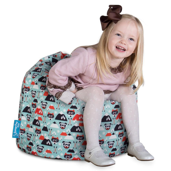 childrens-bean-bag-print-skiing_1
