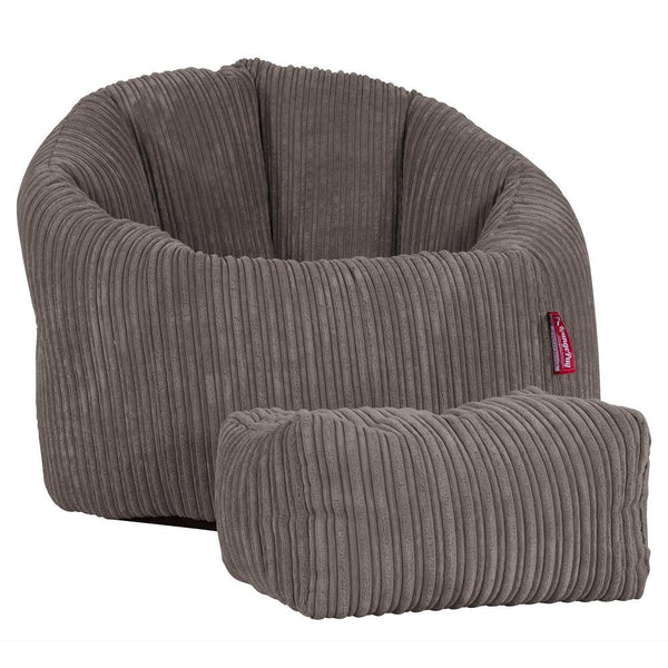 Cuddle-Up-Bean-Bag-Chair-Cord-Graphite-Gray_1