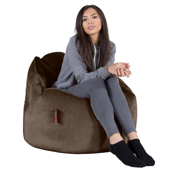 Cuddle-Up-Bean-Bag-Chair-Velvet-Espresso_1