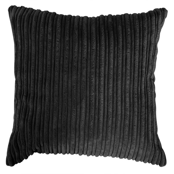 Scatter Cushions (2 sizes : 47cm / 70cm) - Cord Black