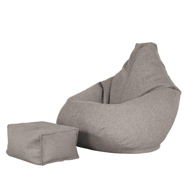 Highback-Bean-Bag-Chair-Interalli-Wool-Silver_1