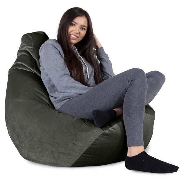 Highback-Bean-Bag-Chair-Velvet-Graphite-Gray_1