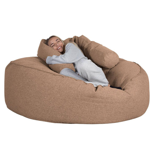 Mega-Mammoth-Bean-Bag-Sofa-Interalli-Wool-Sand_1