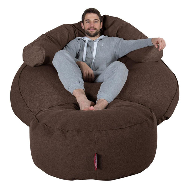 Mega-Mammoth-Bean-Bag-Sofa-Interalli-Wool-Brown_1