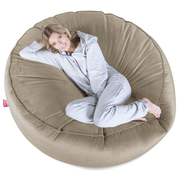 Mega-Mammoth-Bean-Bag-Sofa-Velvet-Mink_1