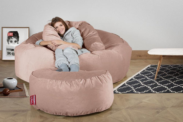 Mega-Mammoth-Bean-Bag-Sofa-Velvet-Rose-Pink_2