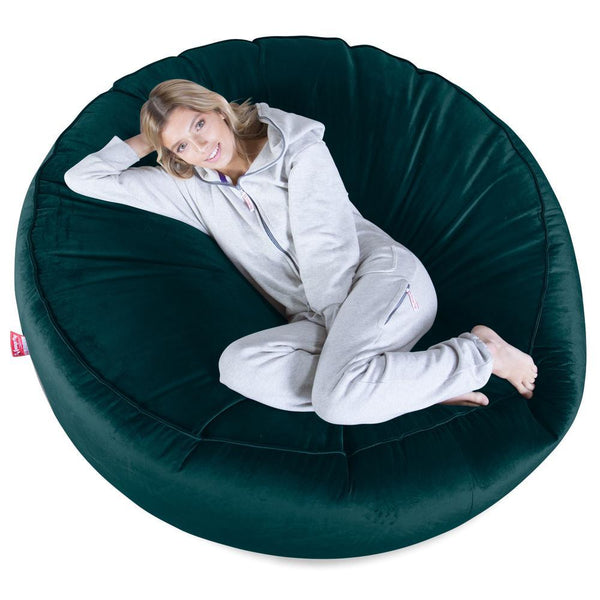 Mega-Mammoth-Bean-Bag-Sofa-Velvet-Teal_1