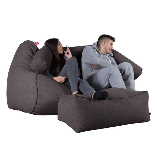 Huge-Bean-Bag-Sofa-Interalli-Wool-Gray_1