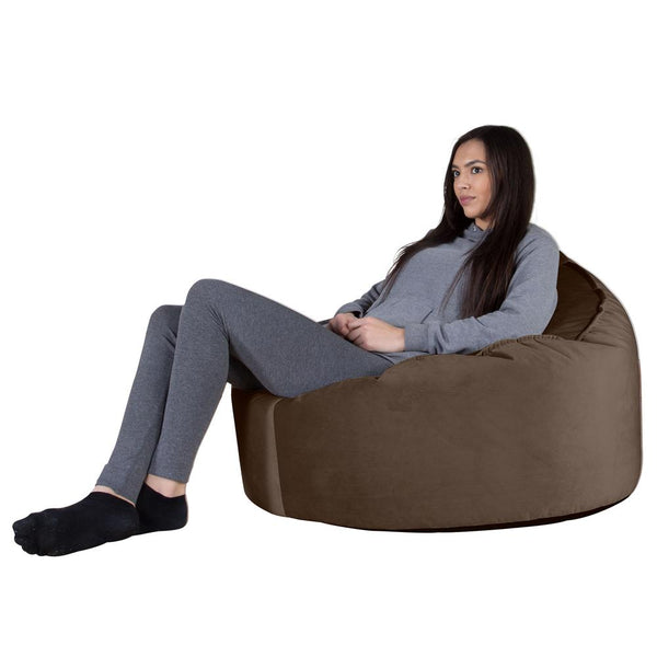 Mini-Mammoth-Bean-Bag-Chair-Velvet-Espresso_1