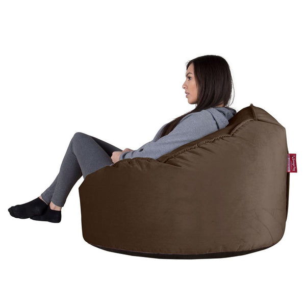 Mini-Mammoth-Bean-Bag-Chair-Velvet-Espresso_2