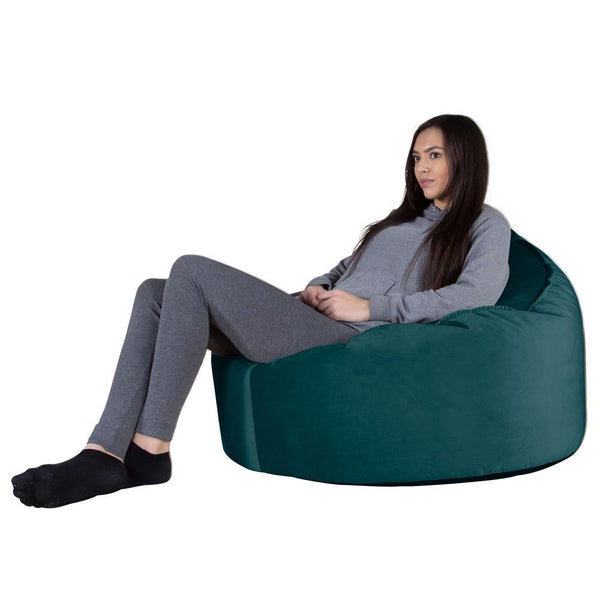 Mini-Mammoth-Bean-Bag-Chair-Velvet-Teal_1