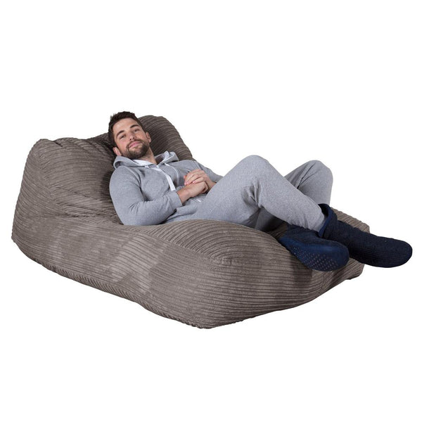 Double-Day-Bed-Bean-Bag-Cord-Graphite-Gray_1