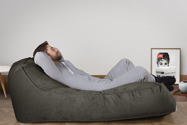 Double-Day-Bed-Bean-Bag-Velvet-Graphite-Gray_2
