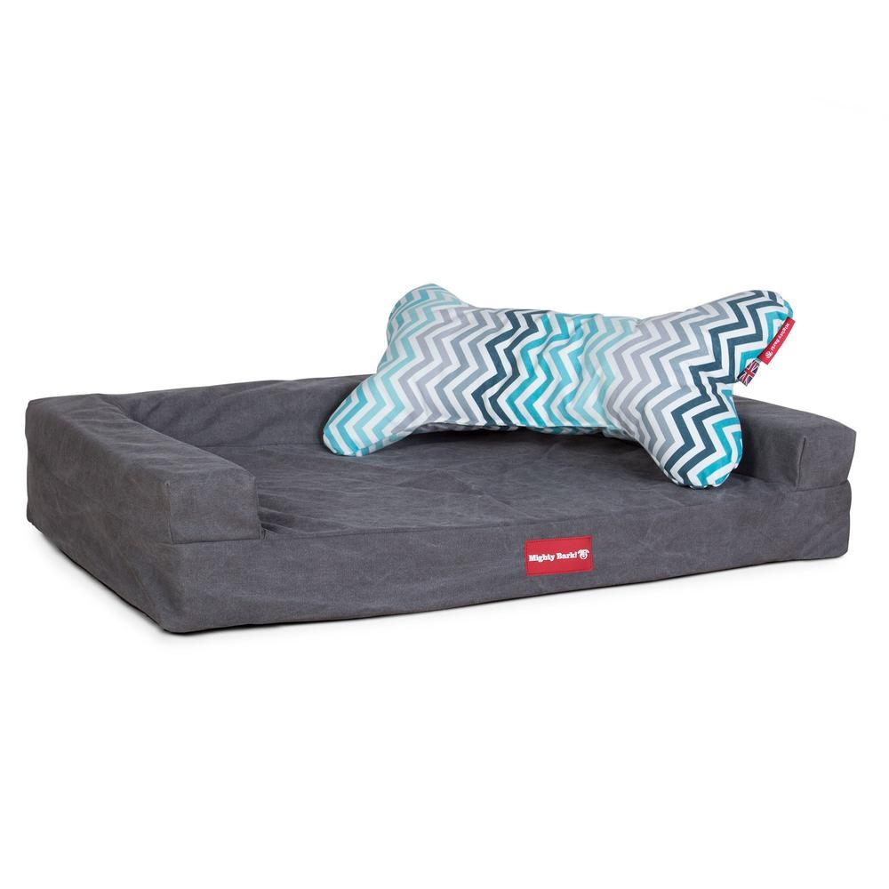 the-bone-bone-shaped-pillow-for-on-dog-beds-geo-print-chevron-teal_5