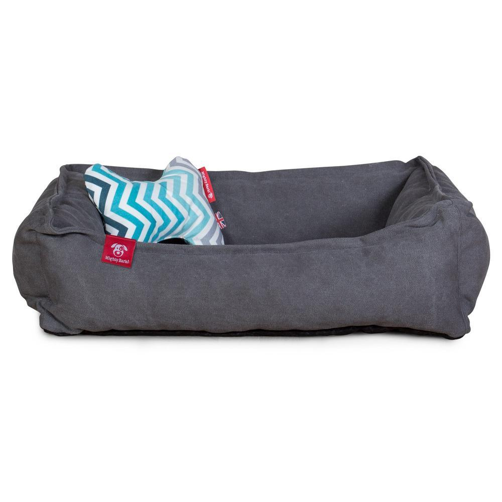 the-bone-bone-shaped-pillow-for-on-dog-beds-geo-print-chevron-teal_2