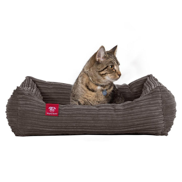 the-cat-bed-memory-foam-cat-bed-cord-graphite-gray_1