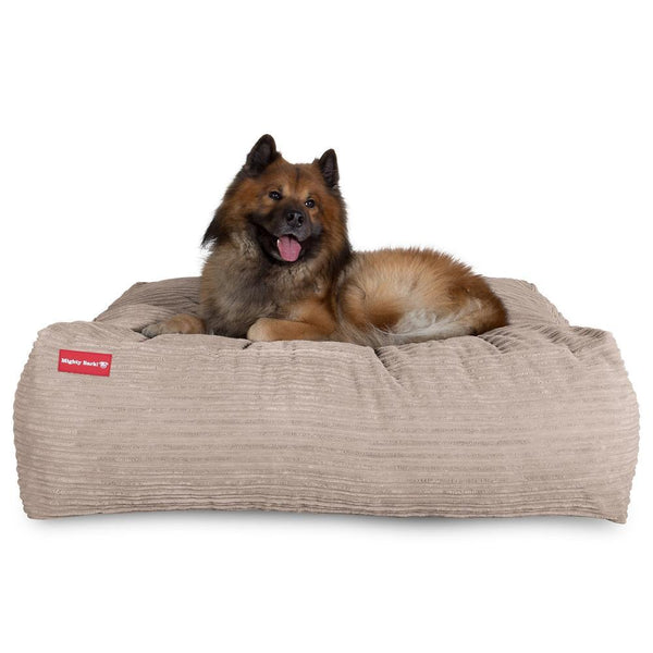 the-crash-pad-memory-foam-dog-bed-cord-mink_1