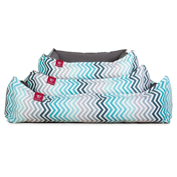 the-nest-orthopedic-memory-foam-dog-bed-geo-print-chevron-teal_1